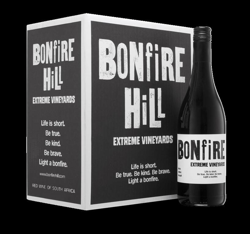 Bonfire Hill Extreme Vineyards Red Blend Case (6x750ml)