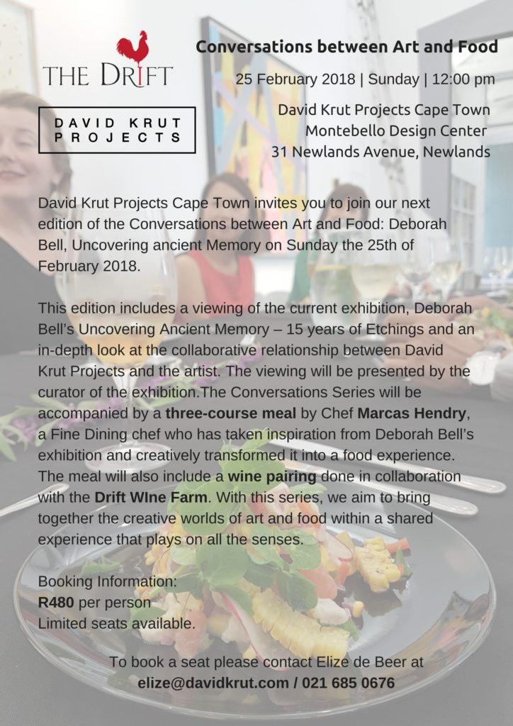 Conversations between Art and Food 2.2018