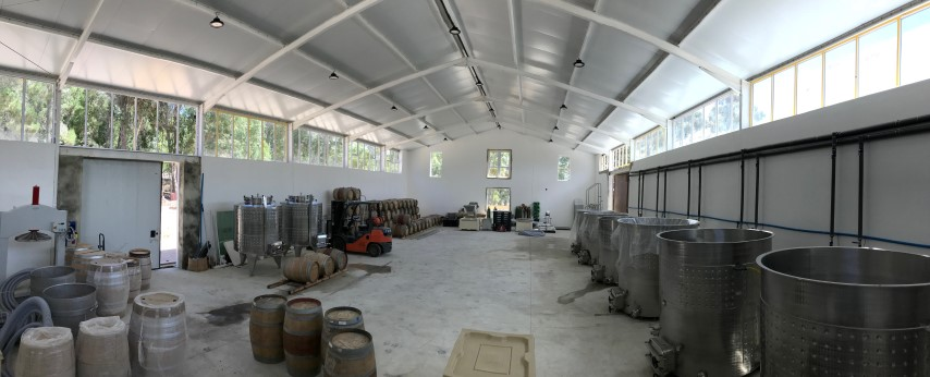 The beginnings of The Drift Estate Winery