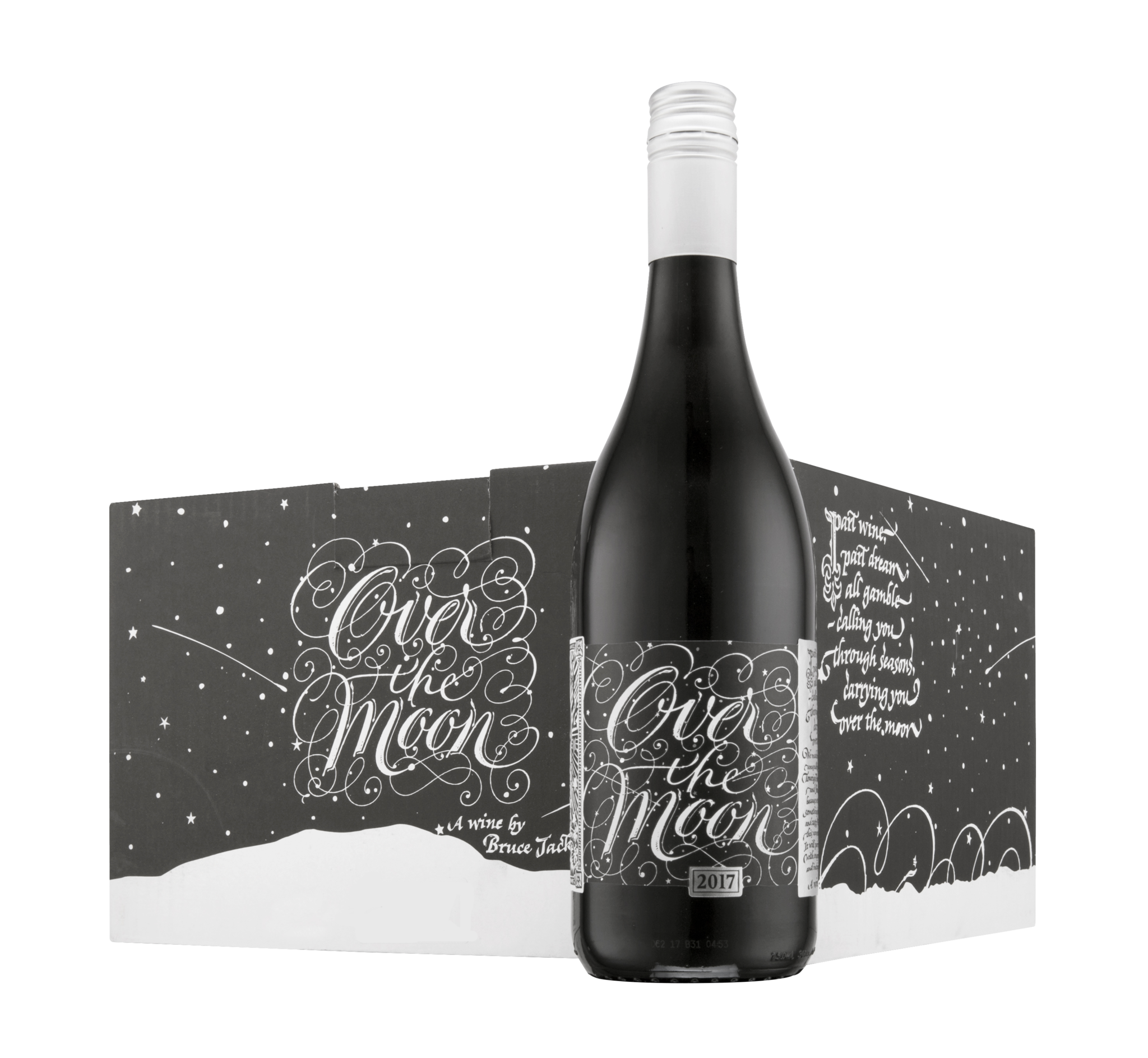 """""""Over The Moon"""" Unfettered Red Case (6x750ml)"""