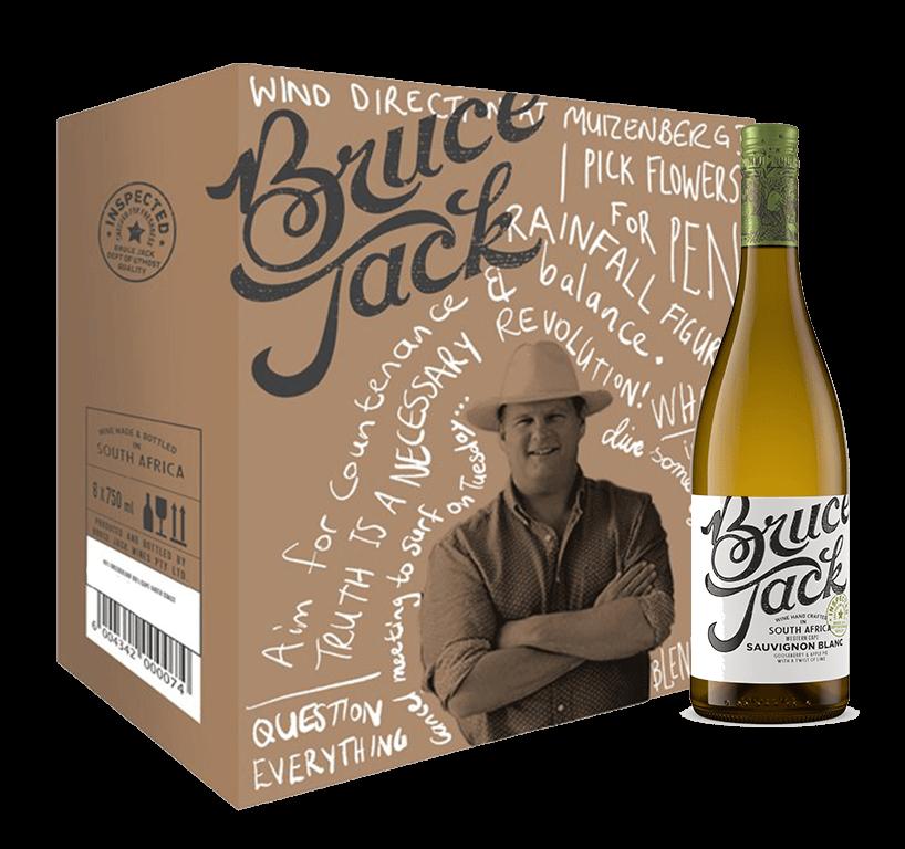 Bruce Jack Sauvignon Blanc Case (6x750ml)
